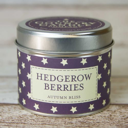 Hedgerow Berries Tin Candle